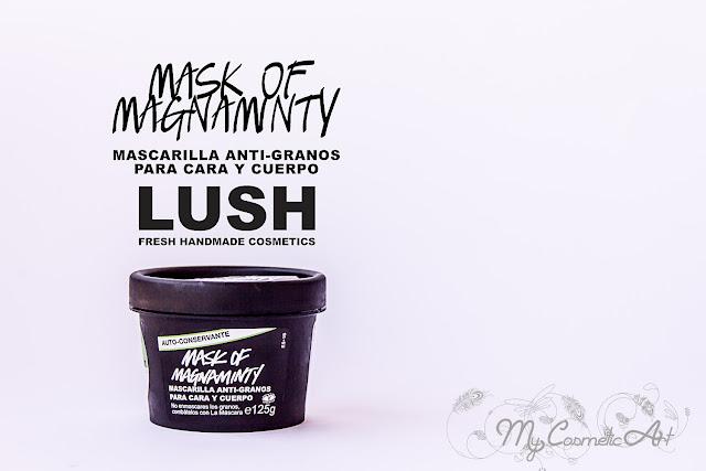 Mask of Magnaminty, mascarilla antigranos de Lush