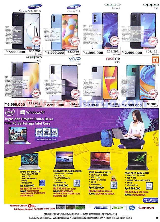 √ Katalog Giant Promo Mingguan 1 - 14 Oktober 2020