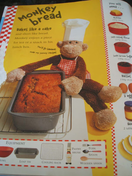 Baking, Book, Jane Bull, Monkey Muffins, muffins, banana, baking, moneky bread