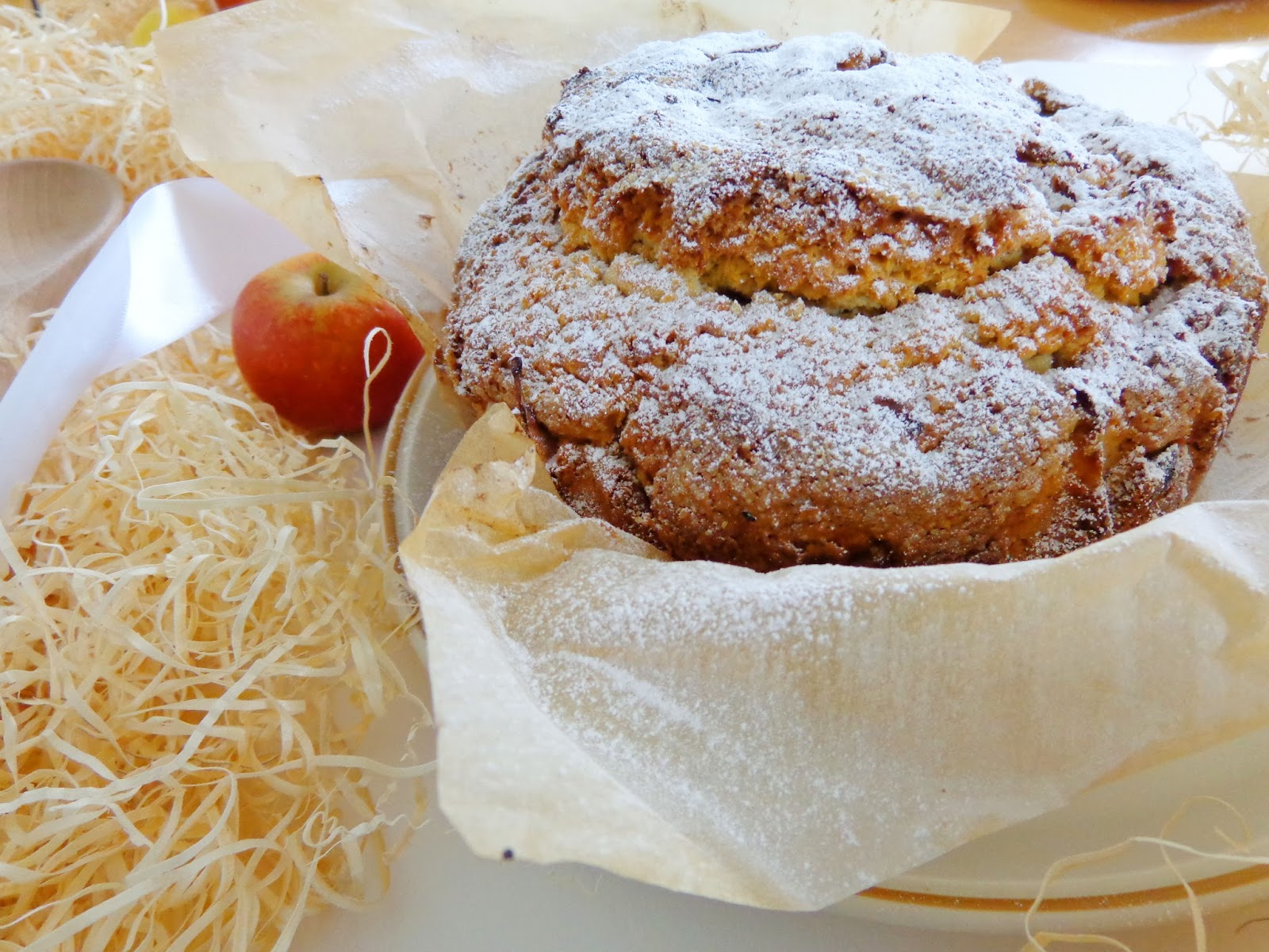 Bilgi Bakes | Irish Apple Cake | Coconut Couture
