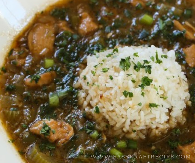 EASY CHICKEN GUMBO RECIPE