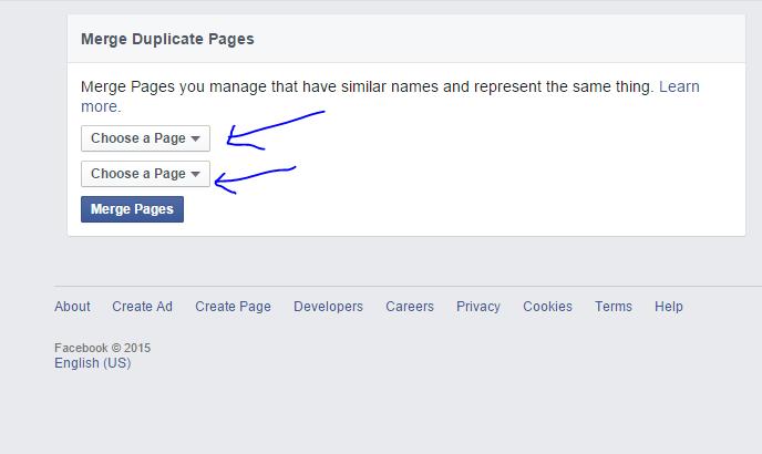 ফেসবুকে দুটি পেজের লাইক একটি পেজে আনুন [How to marge two facebook page ]