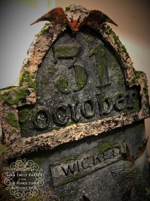 Sara Emily Barker https://sarascloset1.blogspot.com/2019/10/october-31-tombstone-for-funkie-junkie.html Tombstone Etcetera Tag 3