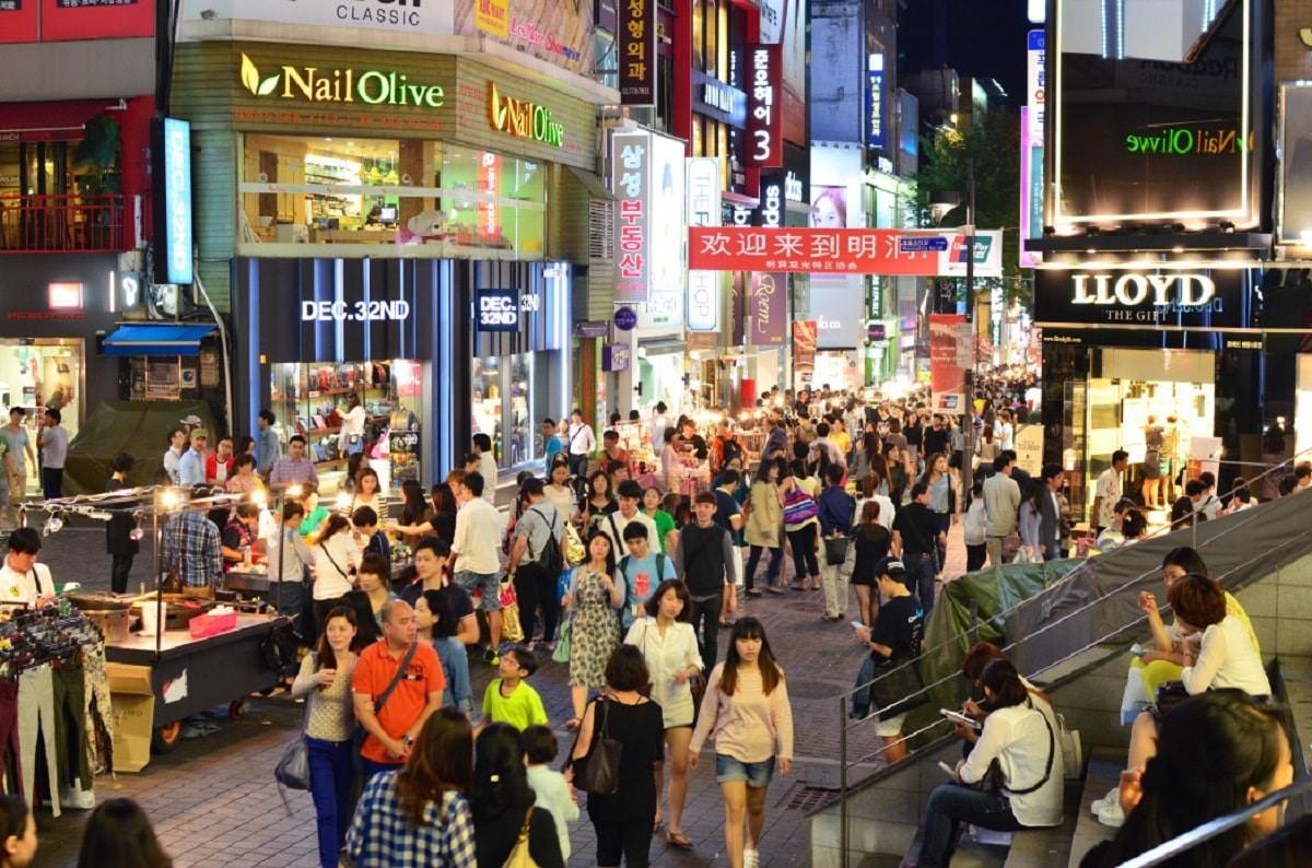 Đất nước Hàn Quốc là thiên đường của ngành mỹ phẩm