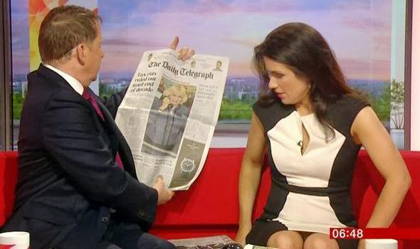 Susanna Reid Flashes Her Knickers On Bbc Breakfast Sofa Again