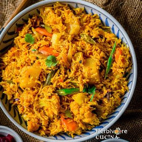 Ready in under 30 minutes, this Instant Pot Vegetable Biryani is flavorful, delicious and easy to make. This recipe is definitely a keepe...
