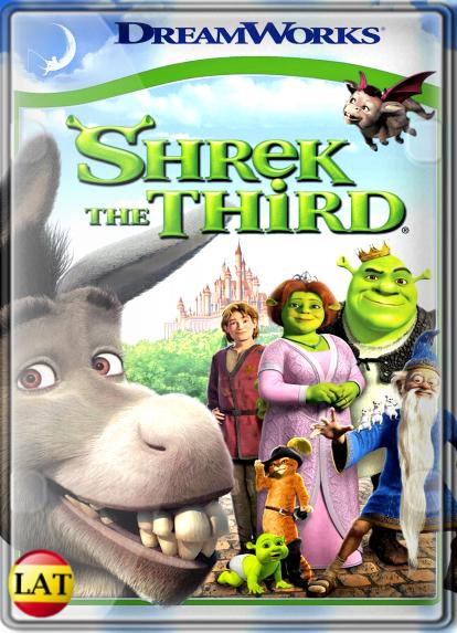 Shrek 3 (2007) DVDRIP LATINO