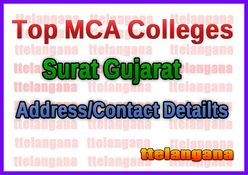 Top MCA Colleges in Surat Gujarat