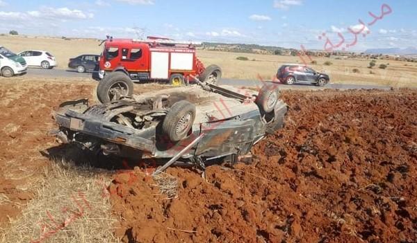 7 جرحى في حادث مرور خطير بأم الذروع