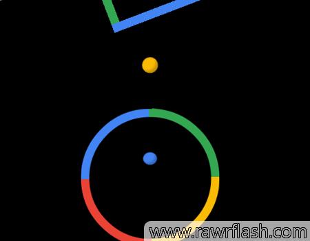 Jogos de habilidade: Color Switch