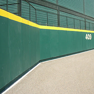 Greatmats Outdoor Sports Field Wall Padding