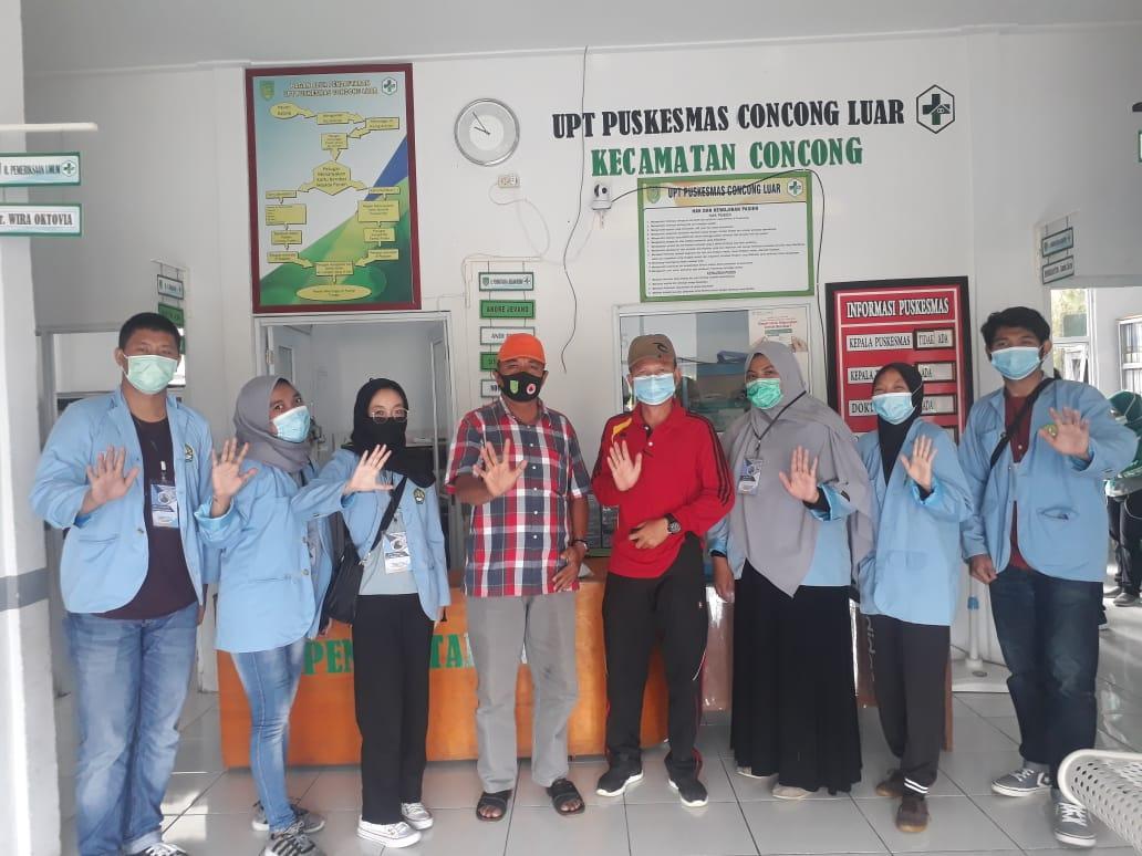 Mahasiswa Universitas Riau KKN di Kawasan Pesisir Inhil, Riau
