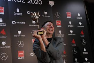 Enric Auquer en los Premios Feroz 2020