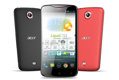 Acer has formalized the release of its new phablet, the Acer Liquid S2. Scheduled for late October, this new 6-inch smartphone is the first to be able to capture video in 4K resolution, ie in Very High Definition
