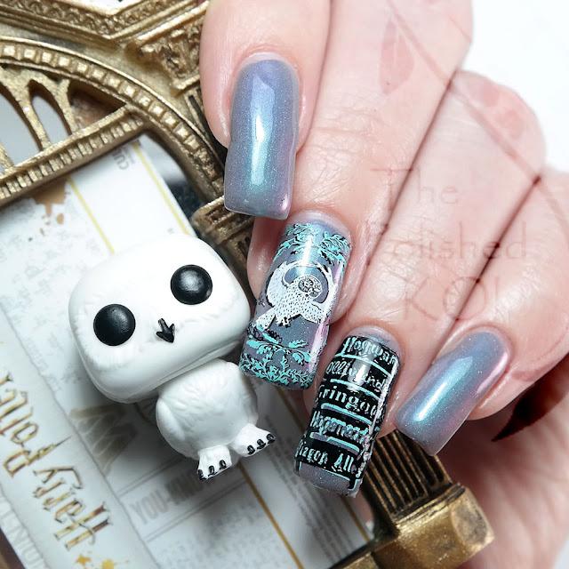 Hedwig Nail Art