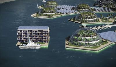 Primeira cidade flutuante do mundo será inaugurada no Oceano Pacífico em 2020