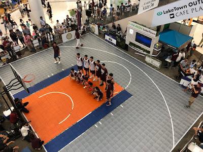 一般社団法人越谷青年会議所 創立45周年記念事業 ~みんなでつくろうバスケのまち~
