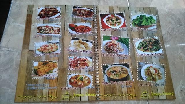 Cetak Buku Daftar Menu Restoran