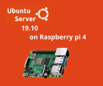 Official Ubuntu Server 19.10 for Raspberry pi 4