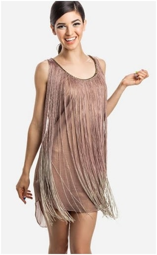 Plain Fringe on dress