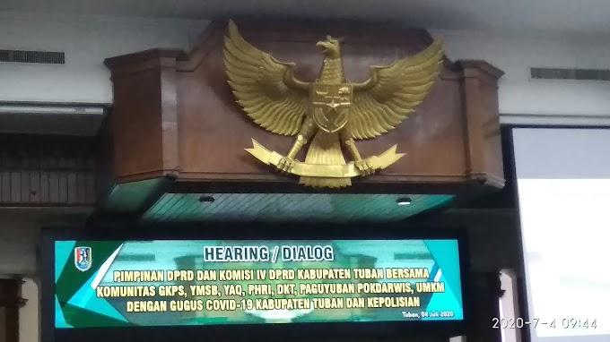 Dahsyat Tuban: Sebentar Lagi SOP Pagelaran Seni Budaya dan Hajatan di DOK, Ini Drafnya...