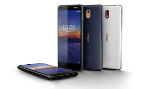 Nokia 3.1 Plus four phones