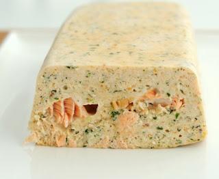 Quick salmon terrine