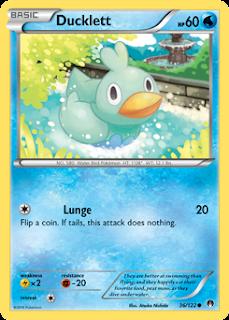 Ducklett BREAKpoint Pokemon Card
