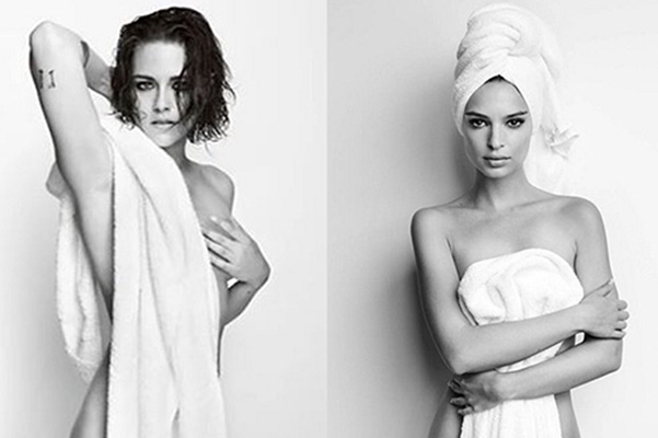 Kristen Stewart and other stars of this photo Mario Testino
