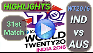 IND vs AUS 31st Match