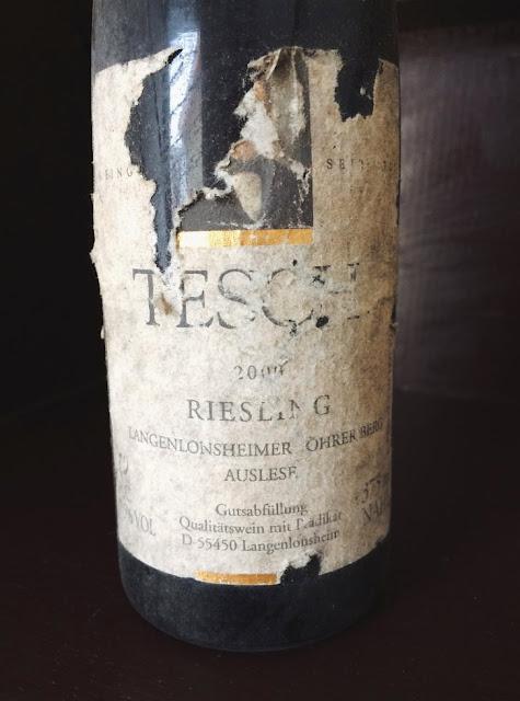 Weingut Tesch Löhrer Berg Auslese Jahrgang 2000