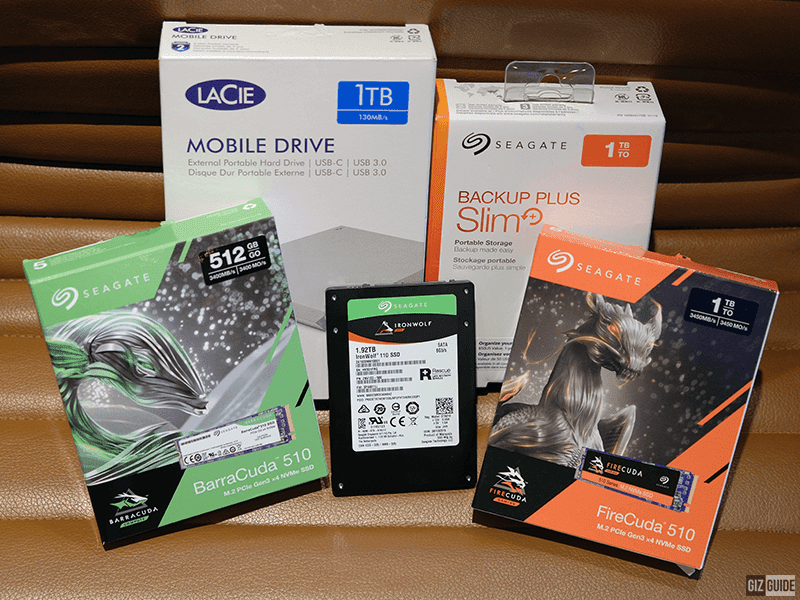 Seagate announces new line of Storage Solution for 2019!