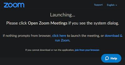 كيفية الانضمام إلى اجتماع Zoom
