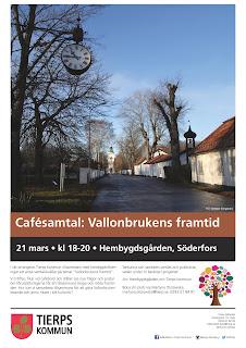 Cafésamtal i Söderfors: Vallonbrukens framtid