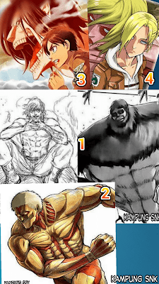 Titan Terkuat di Attack on Titan