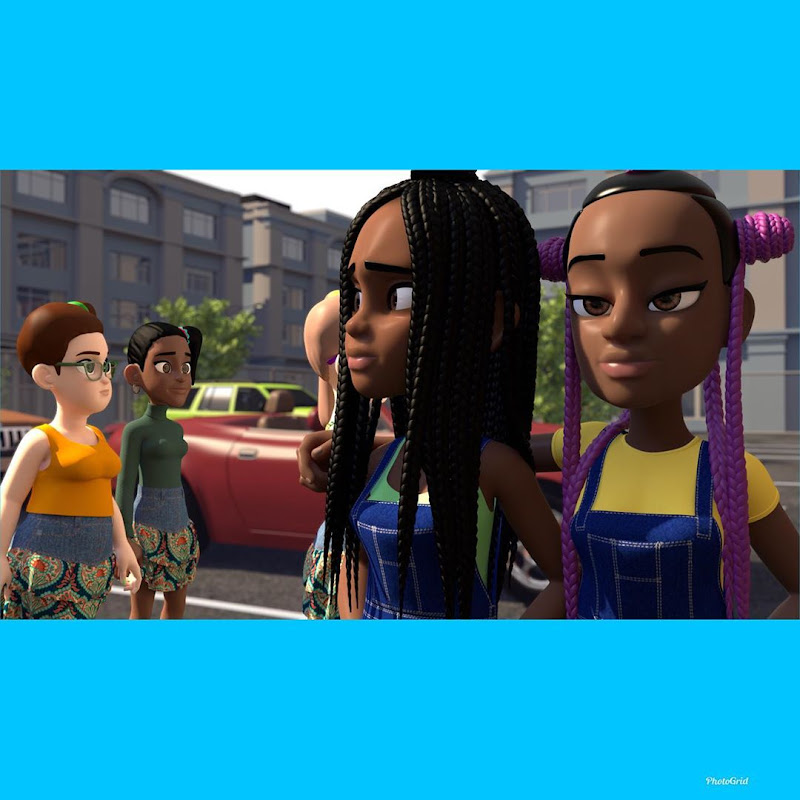 Coconut Confidential: A New Animated Web Series Tells The Story Of An Awkward Teen Struggling To Understand The Complexity Of Interracial Friendship