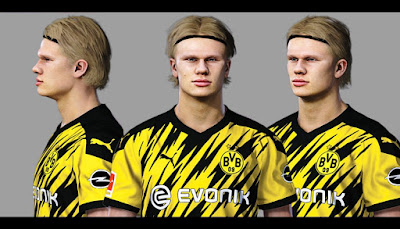 PES 2021 Faces Erling Haaland by Sameh Momen