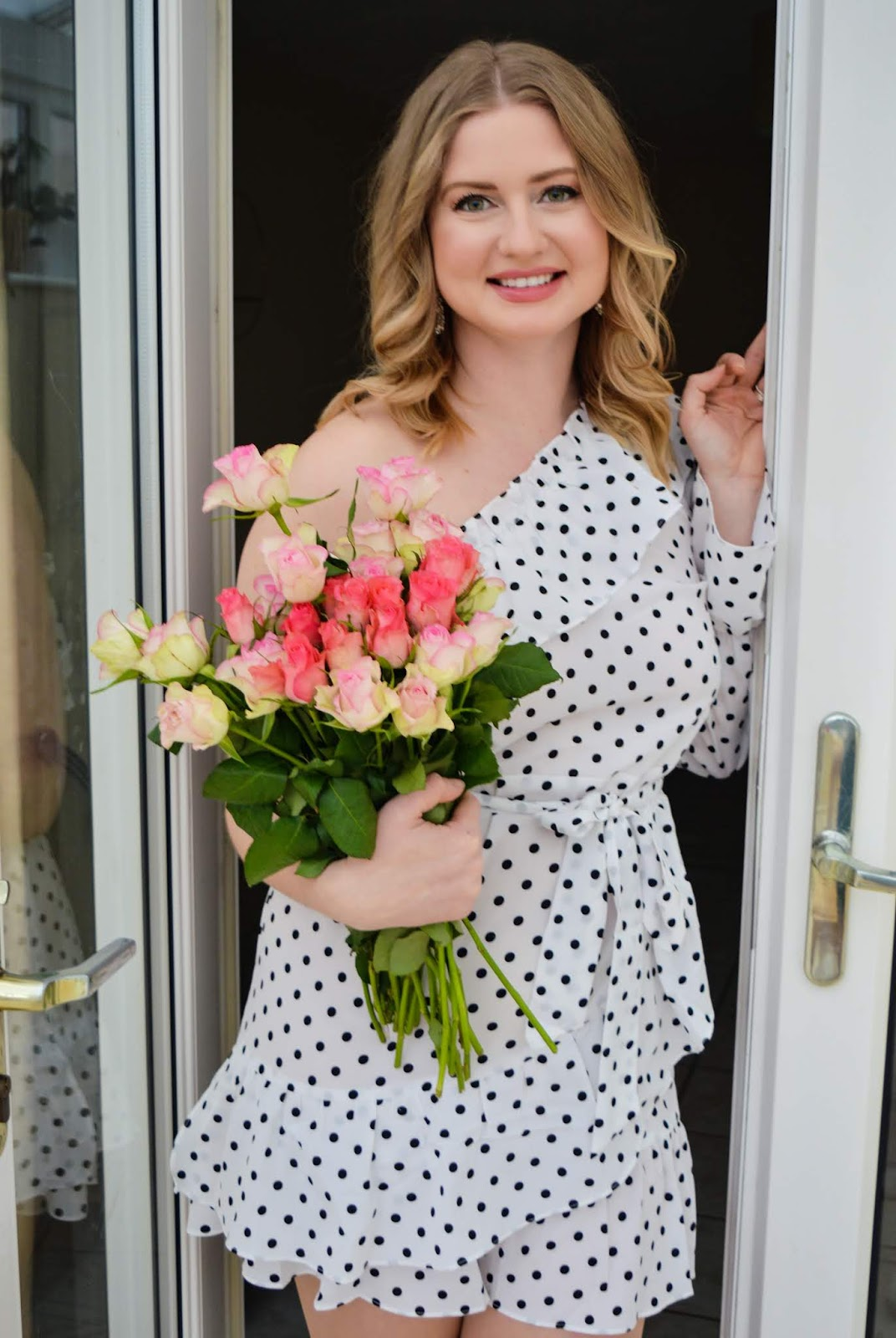 Date nigh dress in polka dot by FemmeLuxe