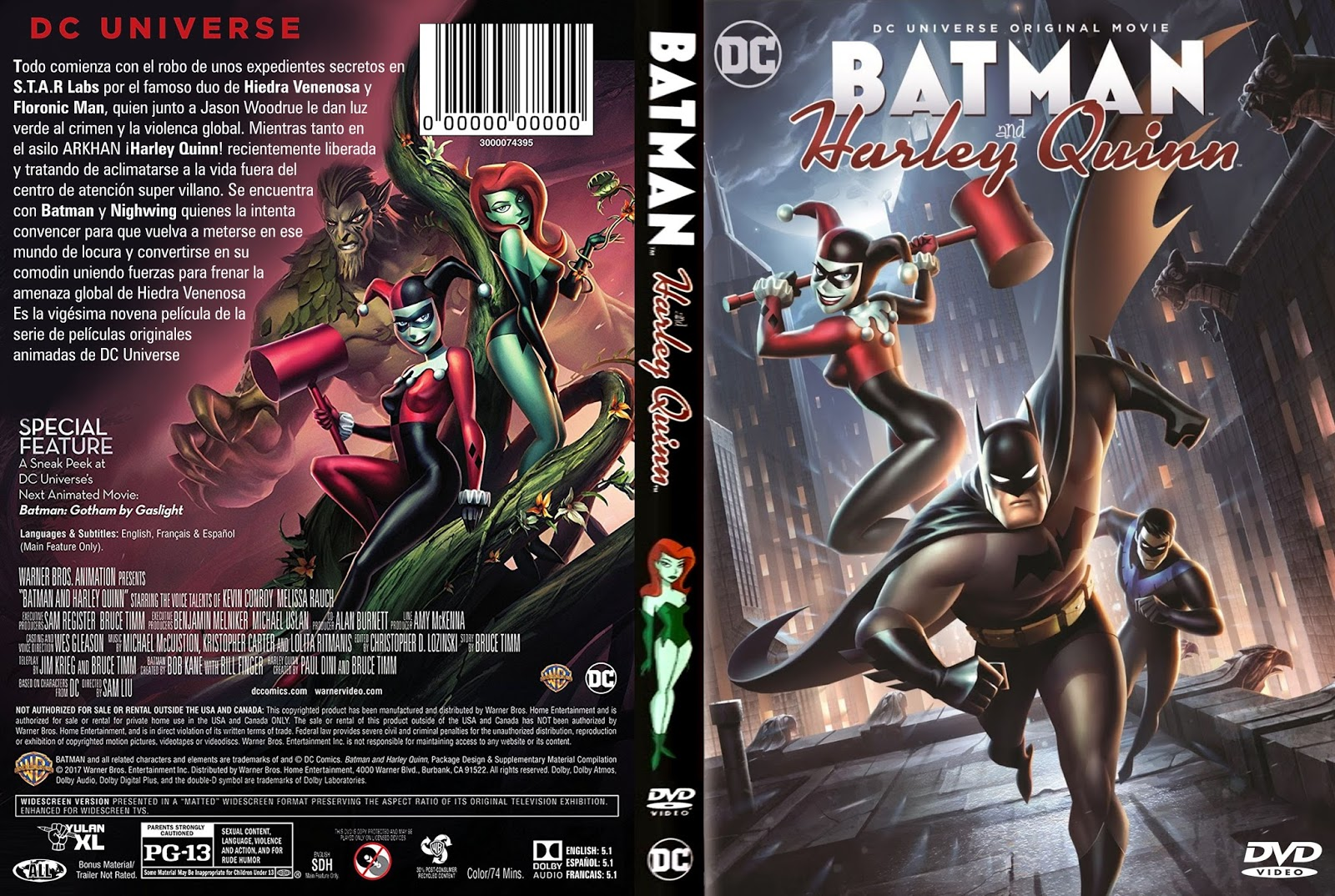 Batmay y Harley Quinn | Peliculas en dvd
