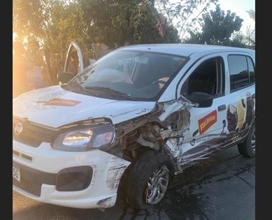 Internauta flagra acidente frontal próximo a Itamarajú