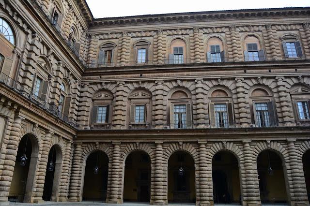 cortile principal Palazzo Pitti