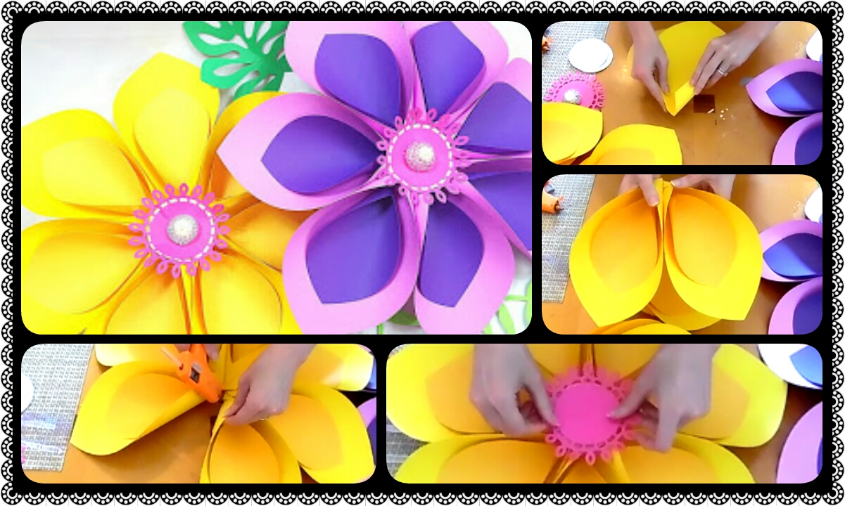 Magnificent How To Make Hawaiian Paper Flowers Illustration Images