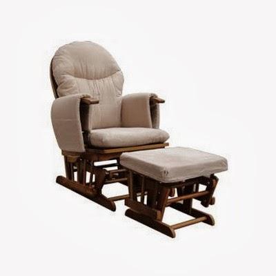 Habebe Nursing Chair - Habebe Glider Rocking Nursing Recliner Maternity Chair with footstool & Habebe Nursing Chair - Habebe Glider Rocking Nursing Recliner ...