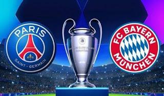 موعد مباراة باريس سان جيرمان وبايرن ميونخ بدوري ابطال اوروبا والقناة الناقلة مجانا