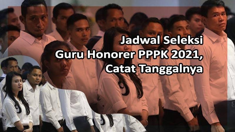 Jadwal Seleksi Guru Honorer PPPK 2021, Catat Tanggalnya