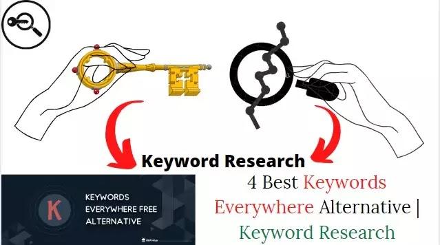 Keywords Everywhere Alternative | Keyword Research