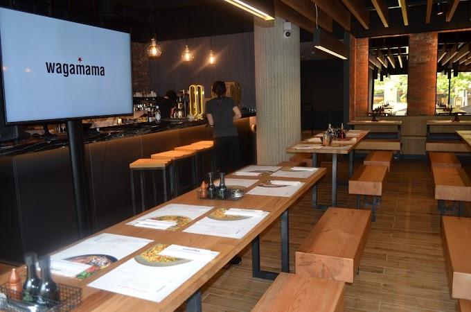 Ya está en Madrid el primer restaurante wagamama de España