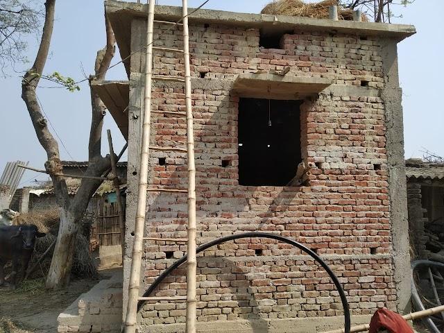 महमदपुर में निकासी के बाद भी अधूरा है जल नल योजना