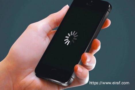 مشكلة تهنيج الموبايل