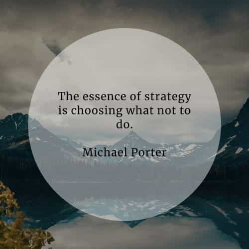 Strategy quotes that'll help you execute a working plan